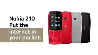 - สรุป Nokia MWC2019 เปิดตัว Nokia 9 PureView มือถือกล้องหลัง 5 ตัวสุดเทพ อัปเดตมือถือซีรีส์ 1, 3, 4 และฟีเจอร์โฟนเน้นใช้อินเทอร์เน็ต