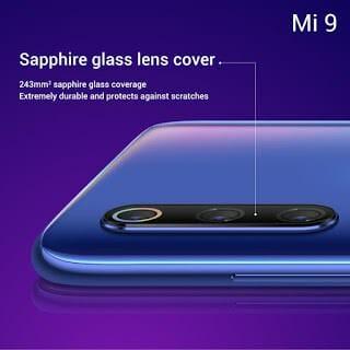 - Xiaomi Mi 9 Sapphire Glass Lens - Xiaomi เปิดตัว Mi9 สเปกจัดเต็ม กล้อง 3 ตัวคะแนน DxOMark 107 ในราคาเอื้อมถึง