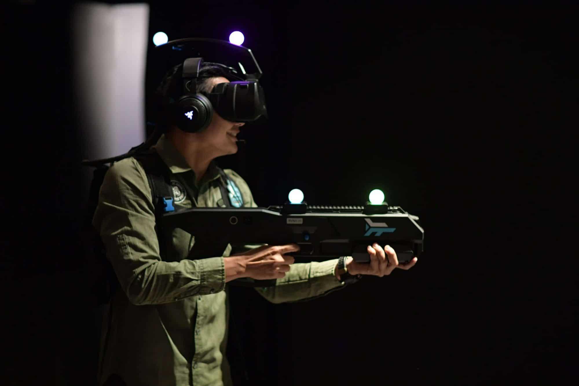 ZERO LATENCY สนามแข่งขันเกม VR ในระบบไร้สาย เปิดตัวในไทยแล้ว ณ โรงแรมโนโวเทล สยามสแควร์ 4