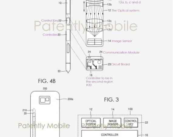 - gsmarena 001 1 - Samsung จดสิทธิบัตร ติดกล้องที่ปากกา S-Pen