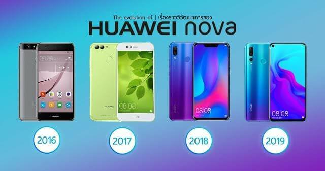 - novaevolution - The evolution of HUAWEI nova เรื่องราววิวัฒนาการของหัวเว่ยโนวา