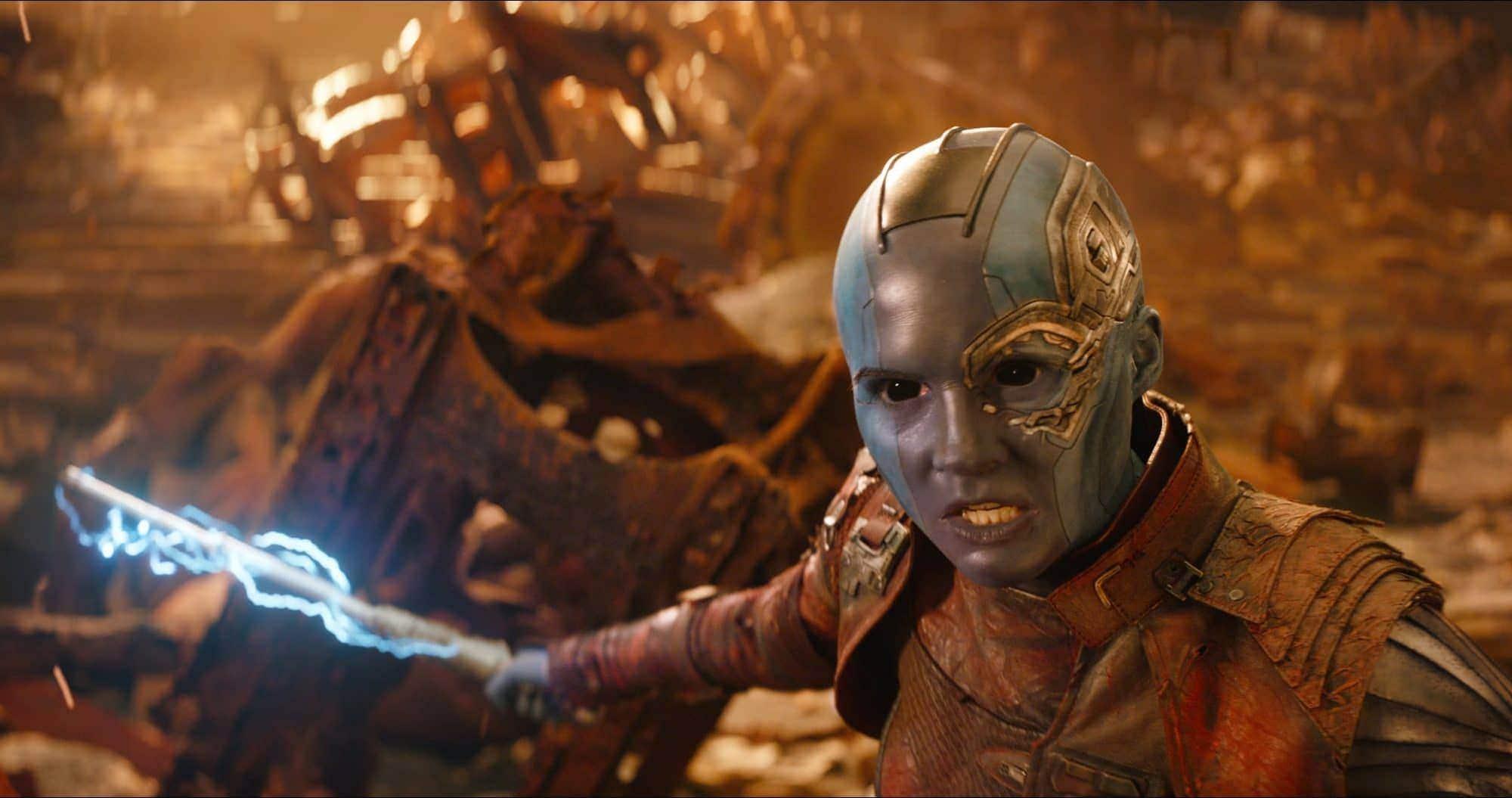 - tmp JUb2P7 ed837e6699734a0d InfinityWar5ae28175ce3f0 - Karen Gillian สาวสุดแซ่บในบท Nebula จาก Guardians of The Galaxy