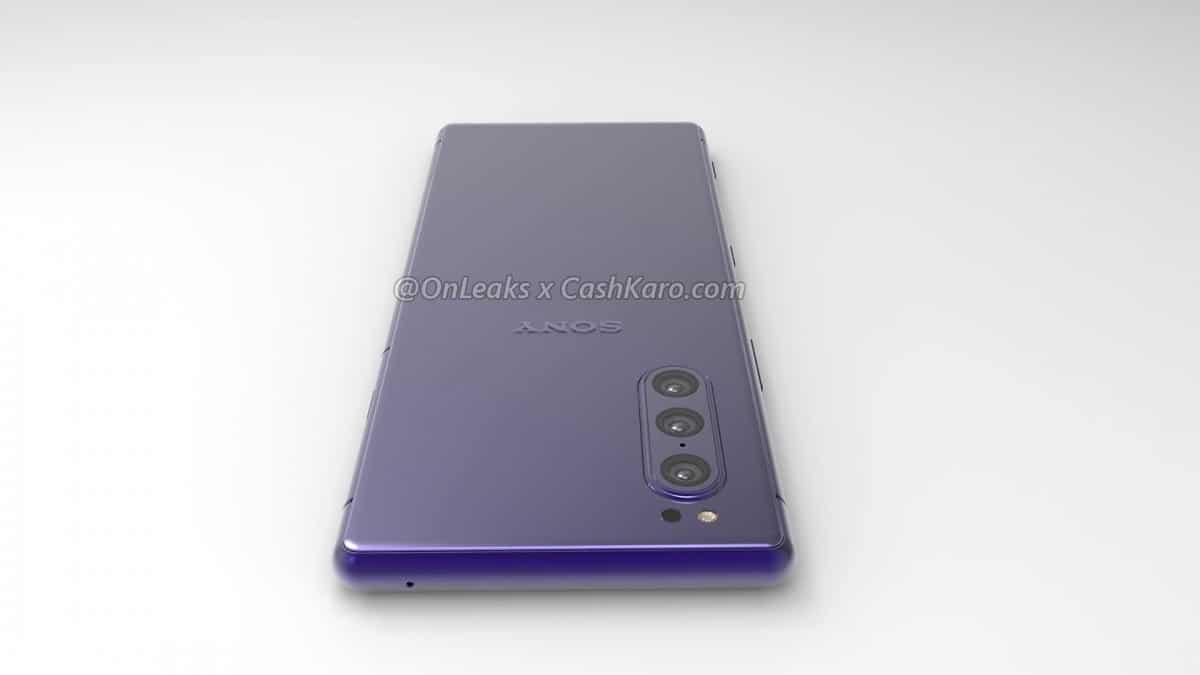 หลุดภาพ Sony Xperia 2 จอเล็กลง ย้ายตำแหน่งกล้องมามุมเครื่อง 6