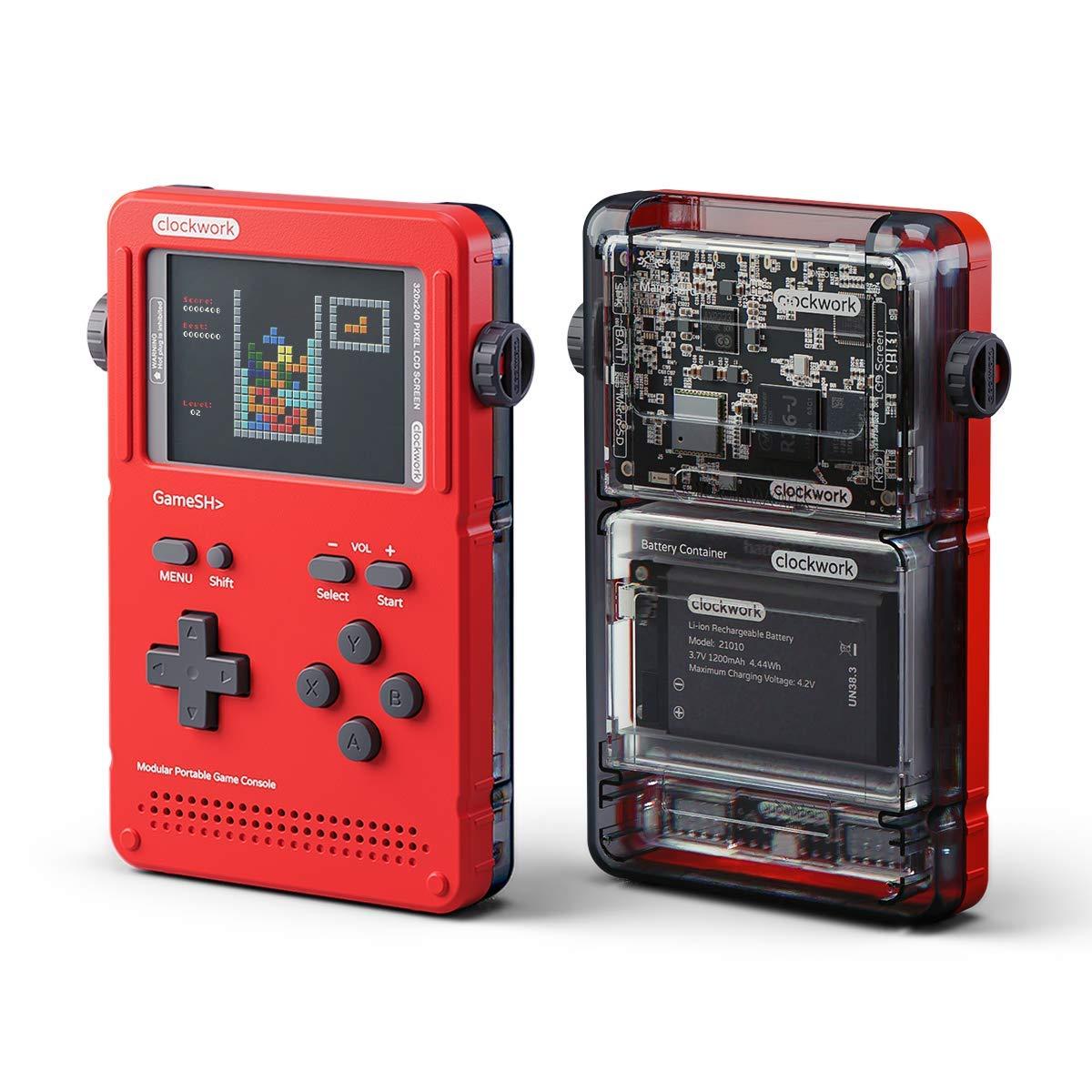 Gameshell เครื่องเกม Retro ยุคใหม่ ออกแบบเป็นโมดูล ถอดเปลี่ยนชิ้นส่วนได้ ต่อขึ้นจอใหญ่ได้ - Gameshell เครื่องเกม Retro ยุคใหม่ ออกแบบเป็นโมดูล ถอดเปลี่ยนชิ้นส่วนได้ ต่อขึ้นจอใหญ่ได้