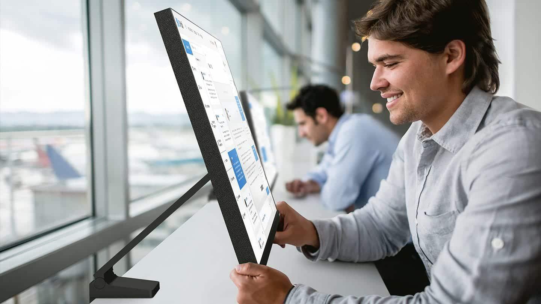 Samsung เปิดตัวจอ Space Monitor ใช้พื้นที่น้อย เพิ่มพื้นที่ทำงาน 2