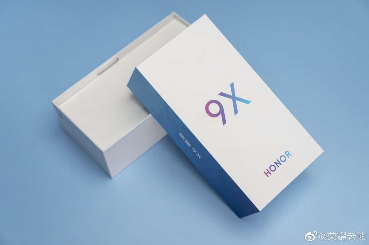 เผยภาพ Honor 9X ฝาหลังตัว X สมชื่อ ใช้ Kirin 810 พื้นที่ 256 GB 4