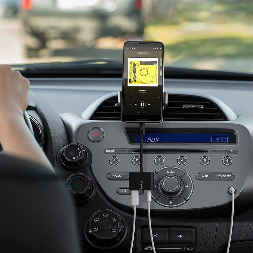 เปิดตัว Belkin RockStar 3.5mm Audio + USB-C Charge Adapter ชาร์จไฟและฟังเพลงไปพร้อมกันแบบคุณภาพสูง 2
