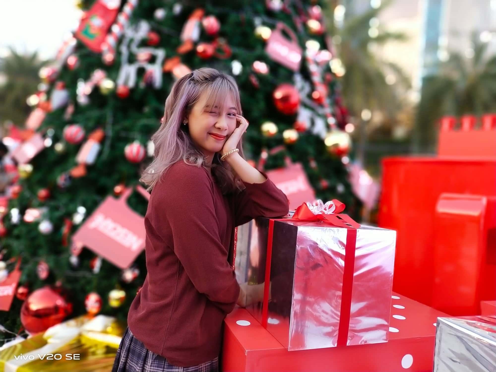 Vivo V20 SE - พก Vivo V20 SE ไปถ่ายรูปเล่นกับเทศกาลคริสต์มาส