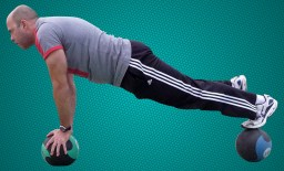 Stability training for core muscles