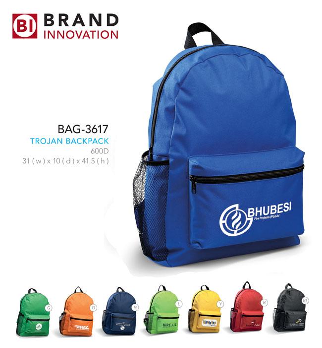 Trojan backpack