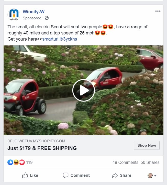 Online Scam Targeting Facebook Users When It S Too Good To Be True