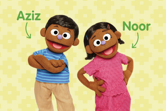 """The humanitarian response """"Play to Learn"""" introduces Rohingya Muppets to Sesame Street"""