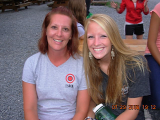 Rita Haworth (left) & Emily Geib (right), two of our July 2009 interns