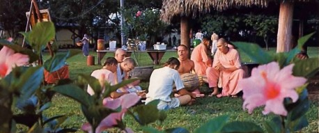 Hare Krishna Farm in Florida 1976.