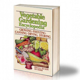 Book Cover: Vegetable Gardening Encyclopedia