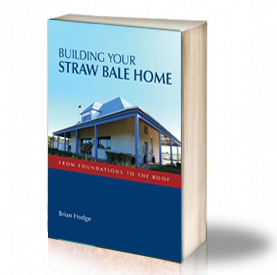 Book Cover: Building your straw bale home – Brian Hodge