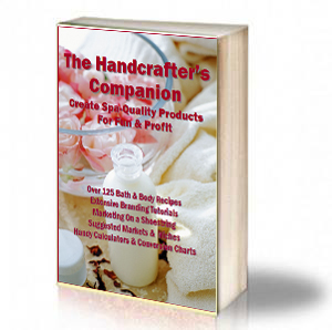 Book Cover: The Handcrafter's Companion - Create Spa-Quality Products For Fun
