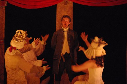 "Billy Downs & ""cast"" (Andrew Bridges, Jamie Bradley, Matthew Schofield & Constance WItman)"