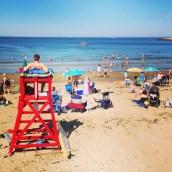 Front Beach (5 minute walk away)