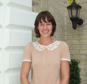 Photo of Doctor of Chiropractic Doctor Victoria White outside of Lushington Chiropractic