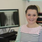 Image of Caroline Mulliner Doctor of Chiropractic at Lushington Road, Eastbourne. Caroline shares her tips on office wellness with us.