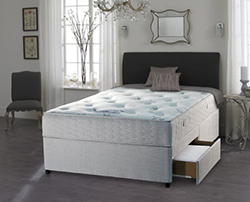 Images shows divan bed to accompany the blog by chiropractor Victoria White on everyday improvements.