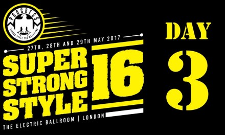 PROGRESS Chapter 49: Super Strong Style 16 (2017) Day 3 (May 29, 2017)