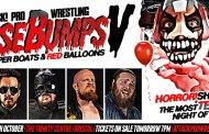 ATTACK! Pro Wrestling - GooseBUMPS V: Paper Boats & Red Balloons (October 29, 2017)