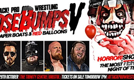 ATTACK! Pro Wrestling – GooseBUMPS V: Paper Boats & Red Balloons (October 29, 2017)