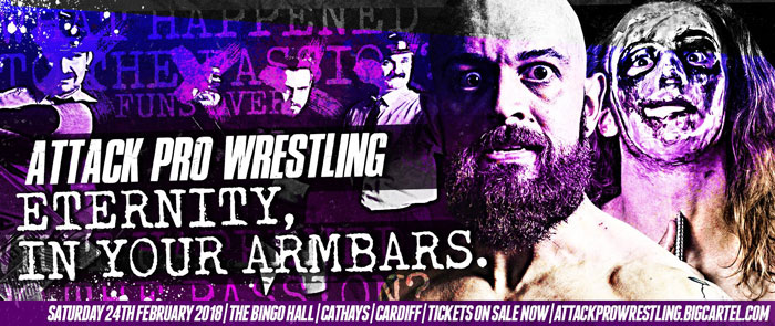ATTACK! Pro Wrestling Eternity, In Your Armbars (February 24, 2018)