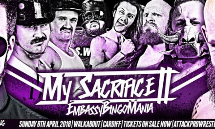ATTACK! Pro Wrestling My Sacrifice II: EmbassyBingoMania (April 08, 2018)