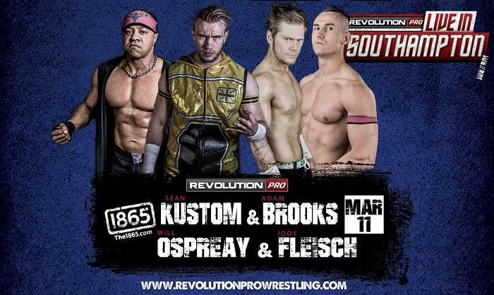 Revolution Pro Wrestling Live in Southampton (March 11, 2018