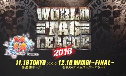 NJPW – World Tag League 2016 – Day Two (November 19, 2016)