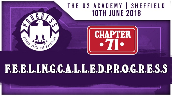 PROGRESS Chapter 71: F.E.E.L.I.N.G.C.A.L.L.E.D.P.R.O.G.R.E.S.S. (June 10, 2018)