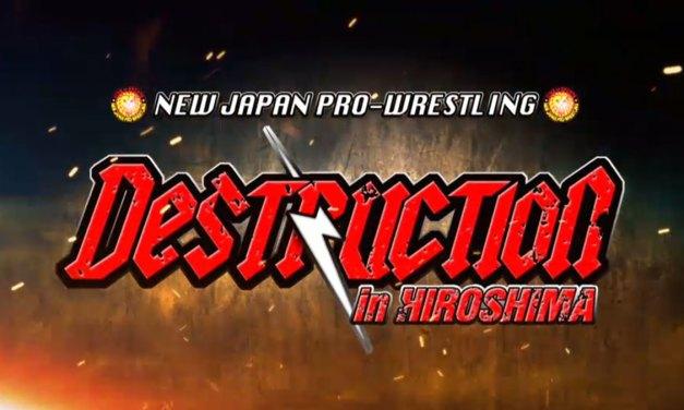 NJPW Destruction in Hiroshima (September 15, 2018)