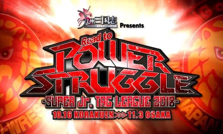 NJPW Road to Power Struggle – Super Junior Tag League 2018 – Night Eight (October 27, 2018)