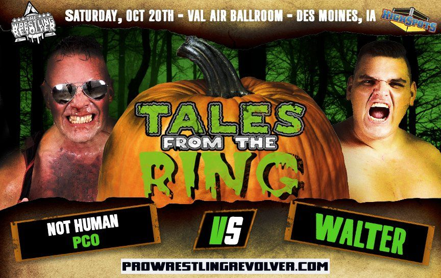 Match Review: PCO vs. WALTER (The Wrestling Revolver, Tales From The Ring) (October 20, 2018)