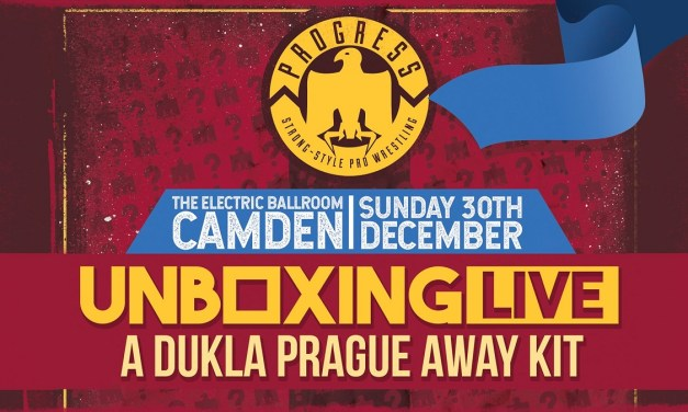 PROGRESS Chapter 82: Unboxing Live 3: A Dukla Prague Away Kit (December 30, 2018)