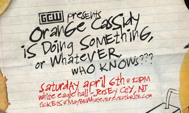 GCW Orange Cassidy is doing something or whatever… (April 06, 2019)