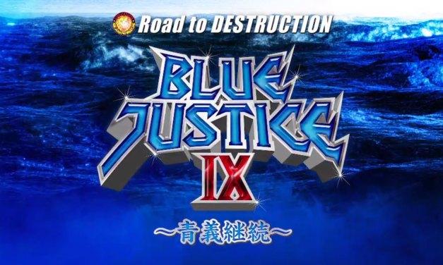 NJPW Road to Destruction – Night Four (Blue Justice IX) (September 08, 2019)