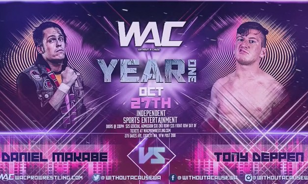 Match Review: Daniel Makabe vs. Tony Deppen (WAC Year One) (October 27, 2019)