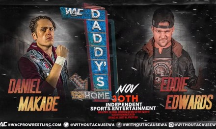 Match Review: Daniel Makabe vs. Eddie Edwards (WAC Daddy's Home) (November 30, 2019)