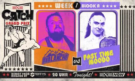 wXw Catch Grand Prix Match Review: Fast Time Moodo vs. Avalanche (October 28, 2020