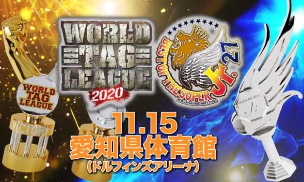 NJPW World Tag League 2020 x Best of the Super Junior 27 – Night One (November 15, 2020)