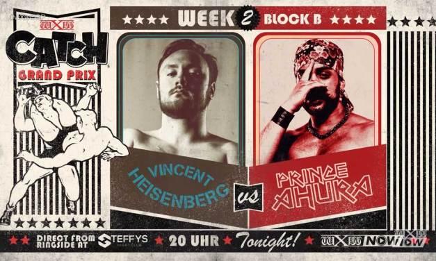 wXw Catch Grand Prix Match Review: Prince Ahura vs. Vincent Heisenberg (November 07, 2020)