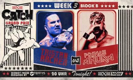 wXw Catch Grand Prix Match Review: Prince Ahura vs. Tristan Archer (November 14, 2020)