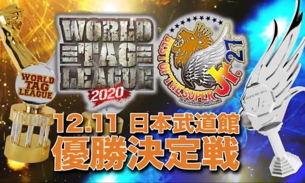 NJPW World Tag League 2020 x Best of the Super Junior 27 – Night Seventeen (Finals) (December 11, 2020)