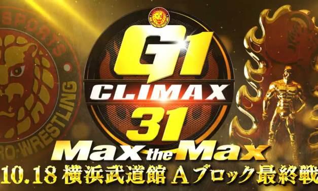 NJPW G1 Climax 31 – Night Seventeen (Block A Finals) (October 18, 2021)