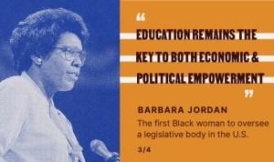 Barbara Jordan Quote