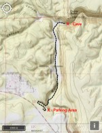 Sandy's Canyon Map